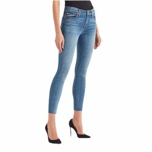 7 for all mankind the ankle skinny jeans 27